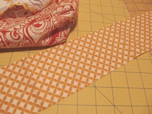 This is a scrap that shows the inside fabric.