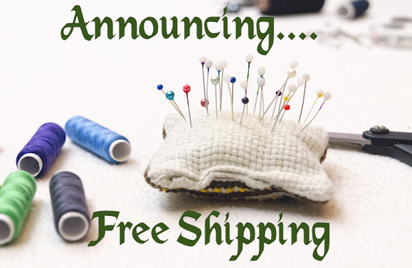 Free shipping in my Etsy shop